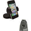 EEEKit - Bundle 2 in 1 for iPhone3/4/5, Samsung Galaxy S3 I9300 Mini I8190, Car Holder Cradle + Storage Pouch