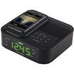 RCA - Clock Radio - Apple Dock Interface - Black