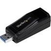 Startech - USB 3.0 to Gigabit Ethernet NIC Network Adapter 10/100/1000 Mbps