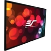 "Elite Screens - Sable235 Fixed Frame Projection Screen - 85"" - 2.35:1 - Wall Mount - Black"