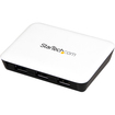 Startech - 3 Port SuperSpeed USB 3.0 Hub with Gigabit Ethernet - White