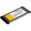 Startech - 1 Port Flush Mount ExpressCard SuperSpeed USB 3.0 Card Adapter