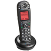 iConnect - A1600E-BT Amplified Cordless with Bluetooth Expansion Handset - Black - Black