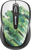 Microsoft - 2.4 GHz Wireless USB Mobile Mouse