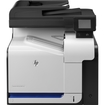 HP - LaserJet Pro 500 Network-Ready Color All-In-One Printer - White