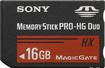 Sony - 16GB Pro HG Duo Memory Stick High Speed