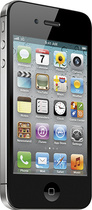 Apple® - iPhone® 4S with 16GB Memory Mobile Phone - Black