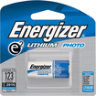 Energizer - e2 EL123 Lithium Digital Camera Battery