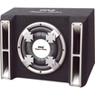 Pyle - Single 10'' Slim Designed Subwoofer Bass Box Enclosure System - Black