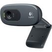 Logitech - Webcam - 1.2 Megapixel - 30 fps - USB 2.0 - OEM - Black