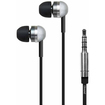 iSound - EM-120 Stereo Earbuds + Microphone - Black, Silver - Black, Silver