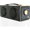 GOgroove - SonaVERSE BXL Portable Speaker w/ Rechargeable Battery, Dual Drivers & 3.5mm AUX Port - Black, Gold