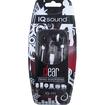 IQ Sound - Digital Stereo Earphones - Black - Black