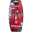 IQ Sound - Digital Stereo Earphones - Red - Red