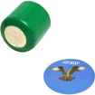 HQRP - Battery for Bushnell, Canon, Naxos, Lomography Digital and 35mm film Cameras plus Coaster - Green - Green
