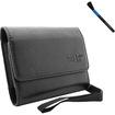Accessory Genie - SAMSUNG TL110 / TL105 / TL225 / TL220 / TL210 / TL205 / TL240 / TL350 Case with Wrist Strap - Black