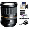 Tamron - 24-70mm f/2.8 Di VC USD SP Zoom Lens (BIM) for Nikon Cameras with 3 (UV/FLD/CPL) Filters + Acc Kit