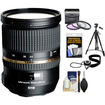 Tamron - 24-70mm f/2.8 Di VC USD SP Zoom Lens for Nikon Cameras + Tripod + 3 (UV/FLD/CPL) Filters + Acc Kit