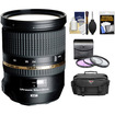 Tamron - 24-70mm f/2.8 Di VC USD SP Zoom Lens for Nikon Cameras + Case + 3 (UV/FLD/CPL) Filters + Acc Kit