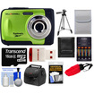 Bell and Howell - Splash WP10 Shock & Waterproof Camera with 16GB Card + Case + Battery/Charger + Tripod + Acc Kit