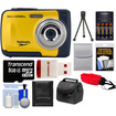 Bell and Howell - Splash WP10 Shock & Waterproof Camera with 8GB Card + Case + Batteries/Charger + Tripod + Acc Kit