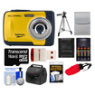 Bell and Howell - Splash WP10 Shock & Waterproof Camera with 16GB Card + Case + Batteries/Charger + Tripod + Acc Kit