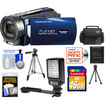 Bell and Howell - DNV16HDZ 1080p Camera/Camcorder with Night Vision + 16GB Card + Case + Tripod + LED Light + Acc Kit