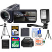 Bell and Howell - DV2300HDZ 23x 1080p Camera/Camcorder with 16GB Card + Battery + Case + Tripod + LED Light + Acc Kit