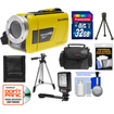 Bell and Howell - Splash HD WV30 Waterproof Camera/Camcorder with 32GB Card + Case + LED Light + 2 Tripods + Acc Kit