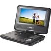"Naxa - Portable DVD Player - 7"" Display - Black"