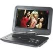 "Naxa - 10"" TFT LCD Swivel Screen Portable DVD Player with USB/SD/MMC Inputs - Black"