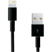 RCA - 3 Foot Lightning Connector Cable for iPhone® and iPad® - Black