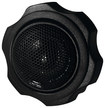 "RE Audio - 1"" Car Tweeters with Silk-Soft-Dome Diaphragms (Pair) - Black"