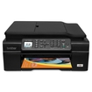 Brother - Inkjet Multifunction Printer - Color - Plain Paper Print - Desktop - Black