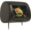 "Concept Housewares - 9"" Chameleon Headrest Monitor w/ HD Input, Built-In DVD Player, Touch Buttons & High Audio Output - Black"