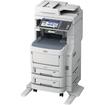 Oki - LED Multifunction Printer - Color - Plain Paper Print - Floor Standing