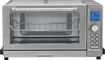 Cuisinart - 0.6 Cu. Ft. 6-Slice Toaster Oven - Black and Brushed Stainless Steel