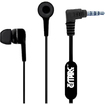 Empire - 3.5mm Stereo Hands-Free Headset Headphones for LG Phones - Black - Black