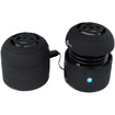 Image - Mini Travel Mobile Speaker f/ iPad® iPod® iPhone® 3G 4G 3GS PC Computer Laptop - Black - Black