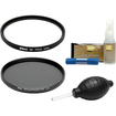Nikon - 77mm NC Neutral Color Filter, C-PL II Circular Polarizing Filter II w/3pc Cleaning Kit, Blower