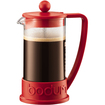 Bodum - Brazil French Press Coffee Maker, 3 Cup, 0.35 L, 12 Oz - Red - Red