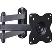 """VideoSecu - Articulating Swing Arm Tilt TV Wall Mount for most 15 - 27"""" LED LCD Monitor BHP - Black - Black"""