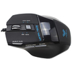 AGPtek - USB Wired Optical 7D 2000DPI Gaming Mouse Mice with 7 Buttons for PC Laptop - Black - Black