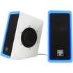 GOgroove - SonaVERSE 2.0 7 W Home Audio Speaker System - iPod Supported - White