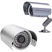 AGPtek - 36 IR LEDs Audio Microphone Security Camera for CCTV Home Surveillance DVR System w/Power Supply