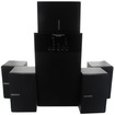 Theater Solutions - Theater Solutuions TS509 Home Theater 5.1 Speaker System & 2 Ext Cables TS509-2 - Black