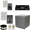 Theater Solutions - Bundle 5.1 Surround Wall Speakers