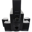Theater Solutions - Theater Solutions 5.1 Powered System with Bluetooth & 5 Ext. Cables TS511B-5 - Black