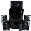 Theater Solutions - Theater Solutions TS514 Home 5.1 Speaker System Bluetooth 5 Ext Cables TS514B-5 - Black