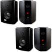 Acoustic Audio - Acoustic Audio 151B Indoor Outdoor 2 Way Speakers 1200W 2 Pair Pack 151B-2Pr - Black